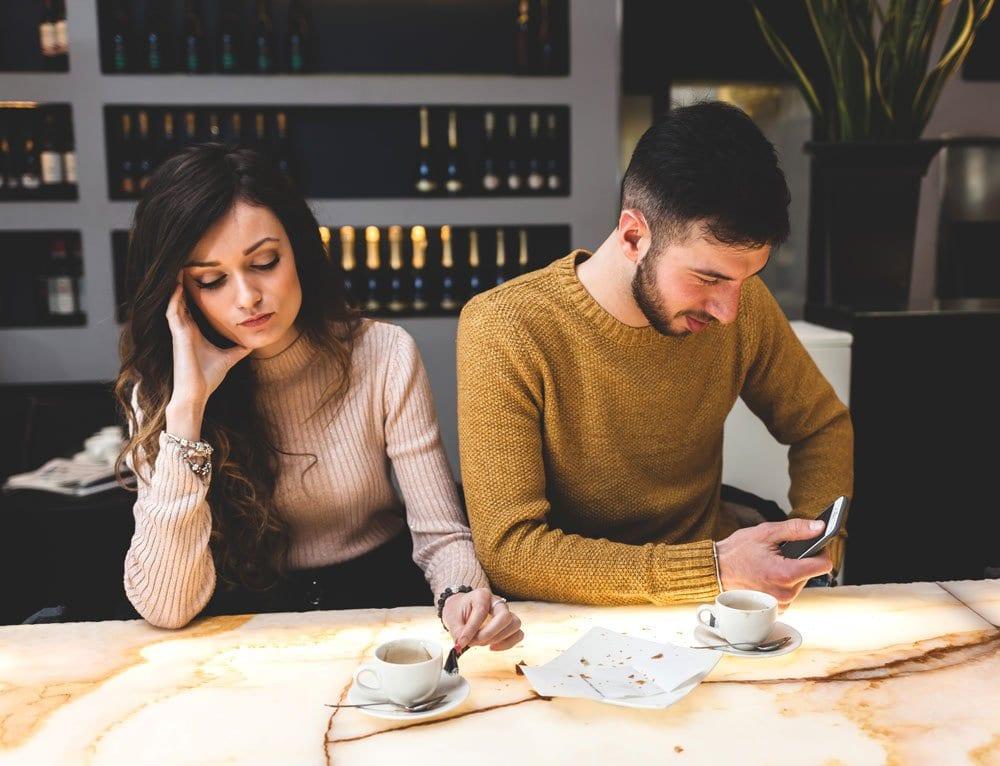 Couple Thinking About How Do I Protect Myself Before Divorce